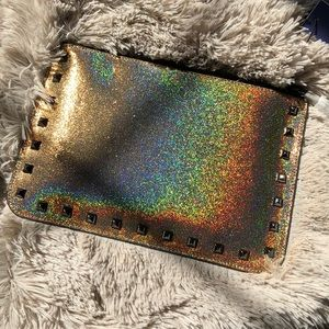 Rebecca Minkoff glitter Kerry pouch